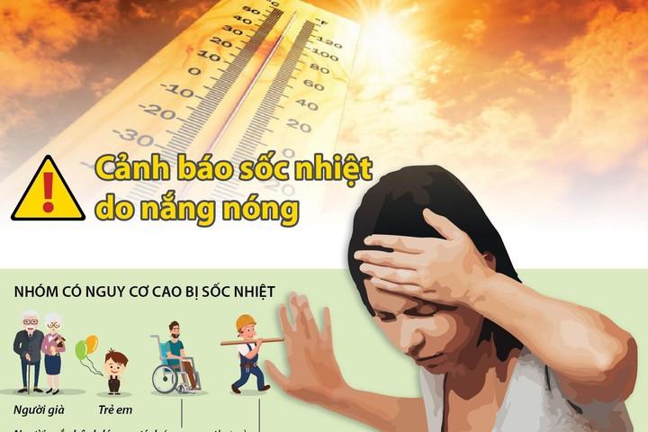 bảo vệ sức khỏe trong mùa nắng nóng