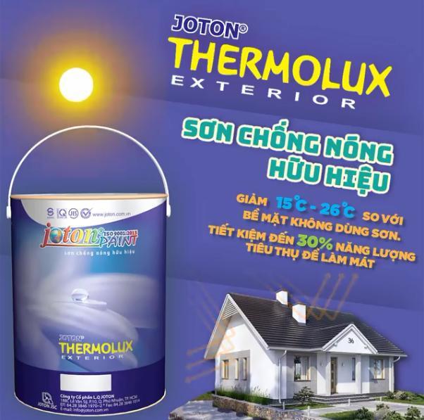 Sơn chống thấm cách nhiệt Joton Thermolux