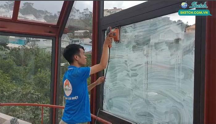 sơn chống nóng kính tại Hà Nội