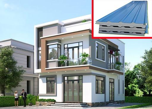 Lựa chọn thiết kế tường và mái nhà cách nhiệt