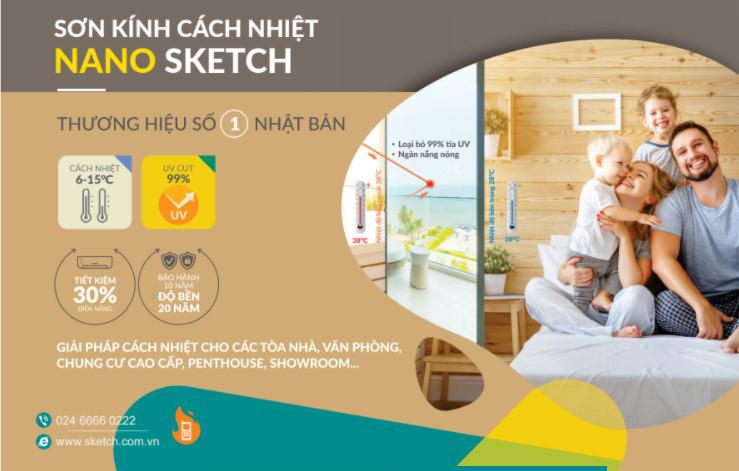 Tác dụng của sơn chống nóng