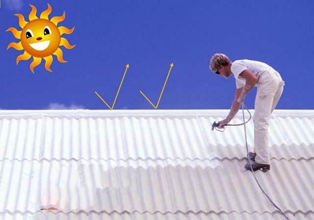 biện pháp chống nóng cho mái tôn