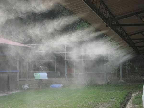 Lắp đạt hệ thống phun sương cho nhà xưởng