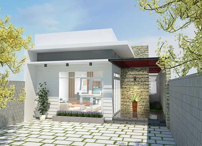 Những mẫu nhà cửa kính đẹp mái bằng hiện đại và sang chảnh