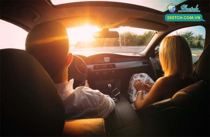 Tác hại của ánh nắng mặt trời khi lái xe ô tô