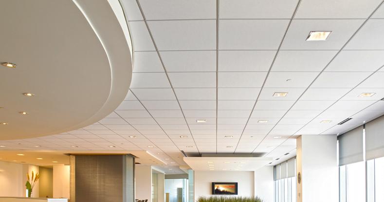 vật liệu xây nhà chống nóng - trần thạch cao