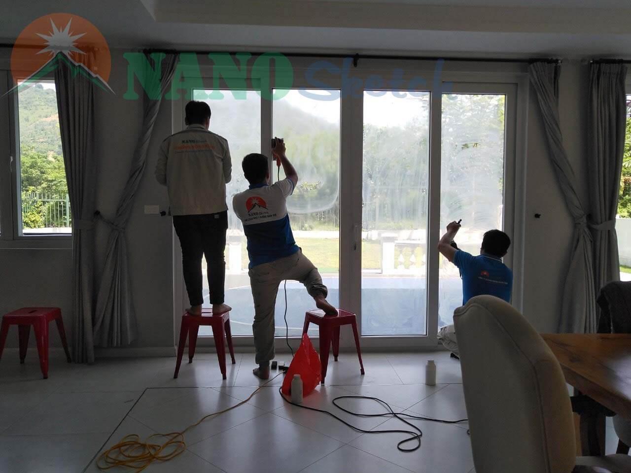 dự án chống nóng xanh villa