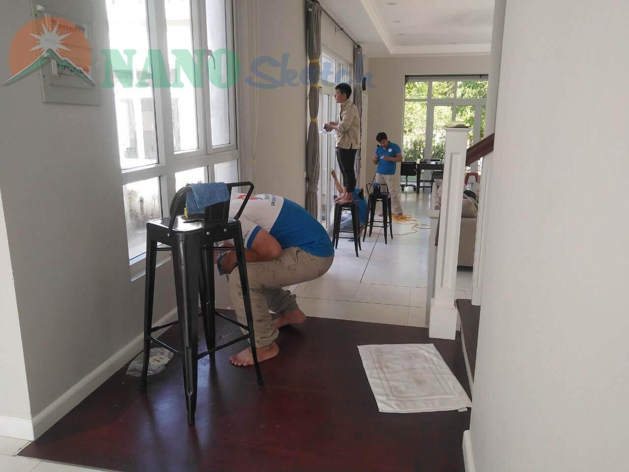 dự án xanh villa